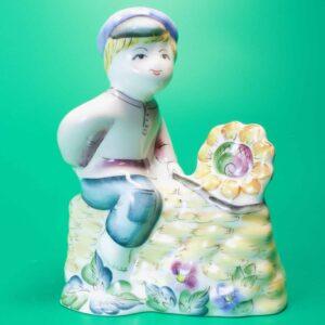 Статуэтка фаянс Семикаракорская керамика