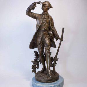 Скульптура Охотник шпиатр Европа