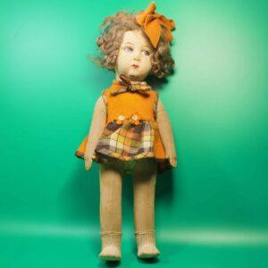 Антикварная кукла RAYNAL или LENCI