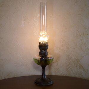 Антикварная керосиновая лампа Matador 15'''