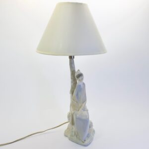 Винтажный светильник Крестьянка NAO by Lladro