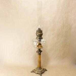 Антикварная керосиновая лампа Bec Gladiator Paris