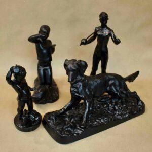 Чугунные статуэтки