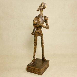 деревянная статуэтка дон кихот
