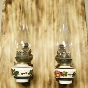 настенные бра под керосиновые лампы