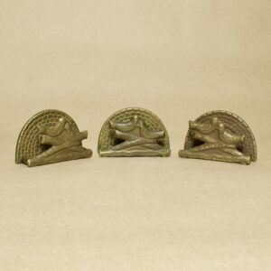 салфетницы бронза птицы