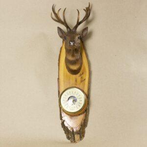 барометр винтажный олень