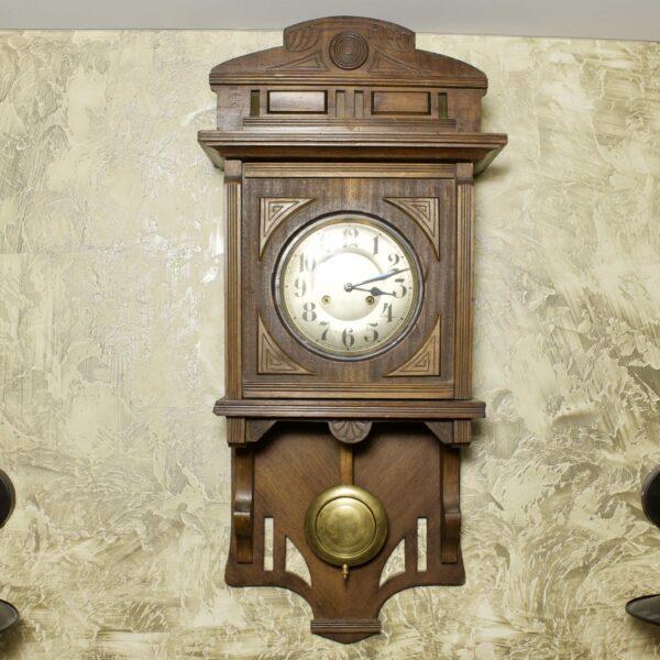настенные часы Junghans антикварные