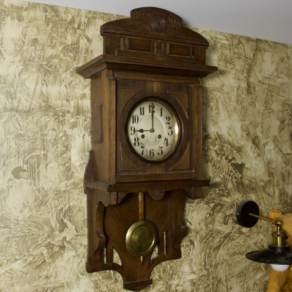 Старинные часы jnghans с боем