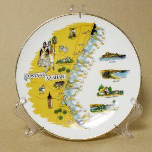 декоративная тарелка costa del azahar