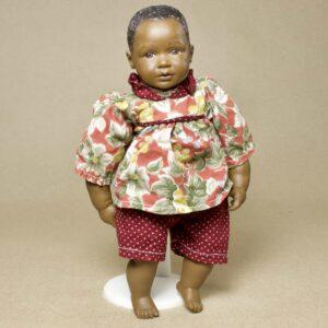 винтажная чернокожая кукла хайди отт