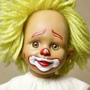 клоун panre кукла винтаж