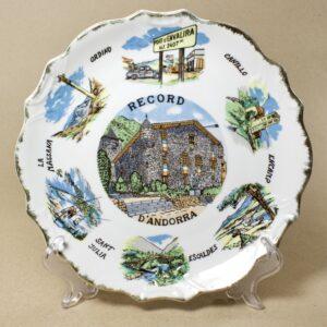 настенная тарелка андорра