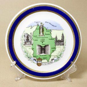 декоративная настенная тарелка луго