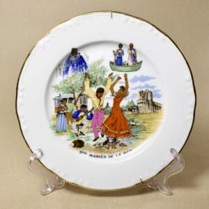 Декоративная настенная тарелка Saintes-Maries-de-la-Mer