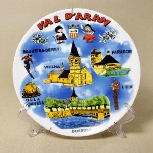 Декоративная настенная тарелка Val d'Aran