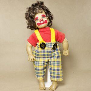 Винтажная кукла клоун Paola Reina