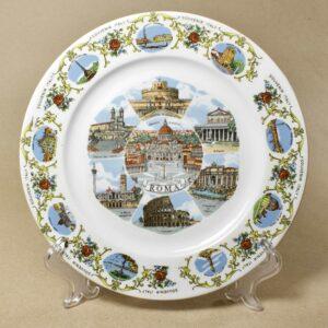 настенная тарелка Roma