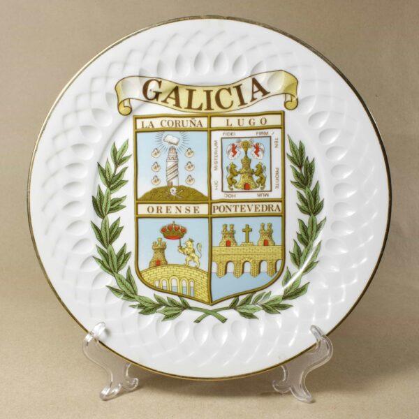 настенная тарелка Galicia