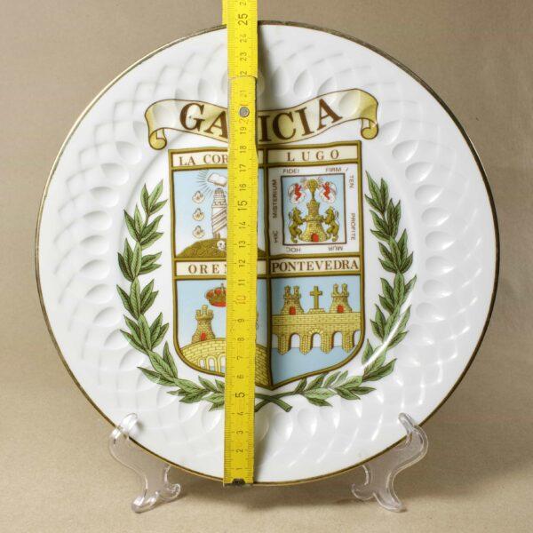 Декоративная тарелка Galicia
