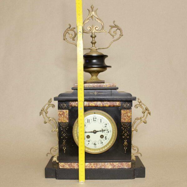 антикварные каминные часы с боем франция