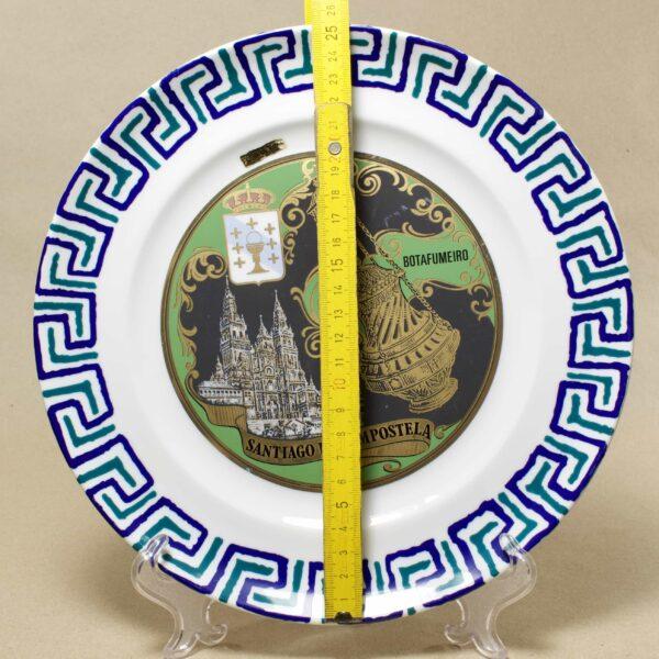Santiago de Compostela настенная тарелка