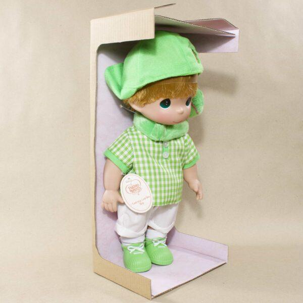 мальчик с жабой Коллекционная кукла Precious Moments
