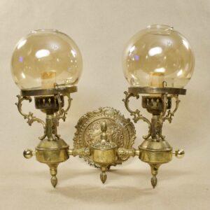 Антикварное бра на 2 лампы 15727