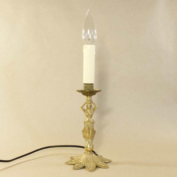 антикварный настольный светильник 15945
