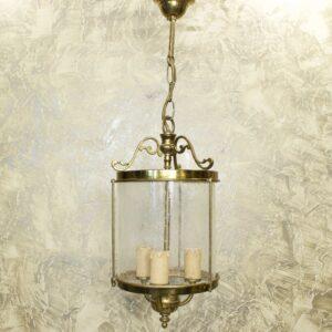 Винтажная люстра фонарь 15916