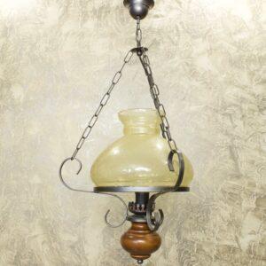 Винтажная люстра на одну лампу 16020